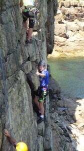 Rock Climbing in Acadia